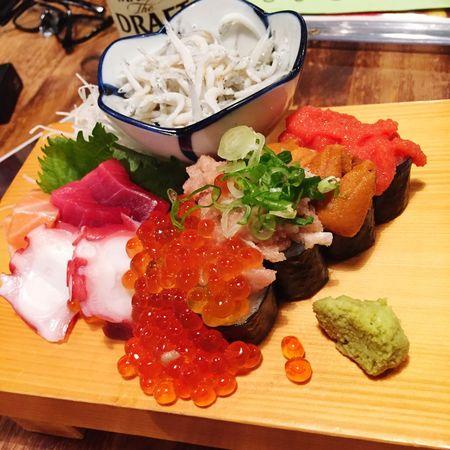 4/15 Dinner 贅沢錦セット❤︎ 京都 雲丹 いくら 明太子 Yummy Kyoto