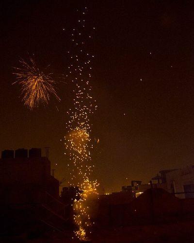 Choti diwali Choti Diwali Diwalicelebration Pataka Rocket Flares Trails Fire Crackers Celebration Deepawali Happy Prediwali Ankitdogra