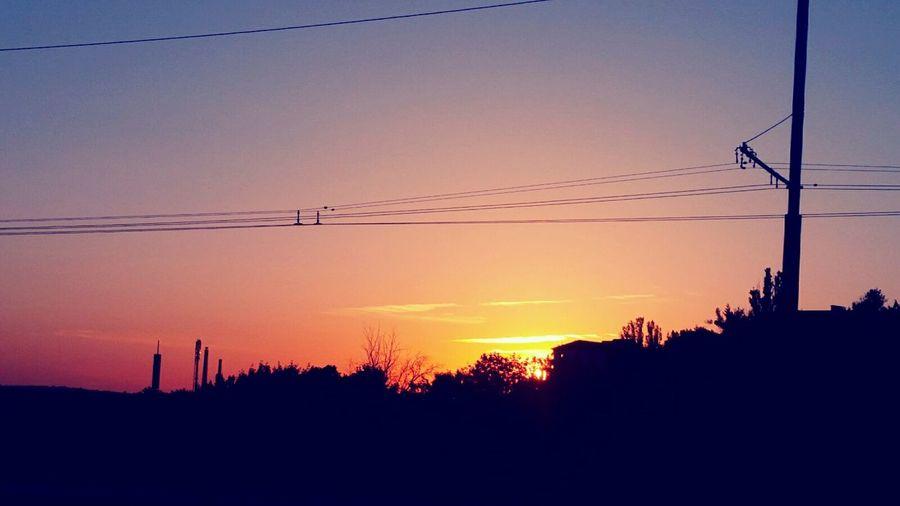 Chişinău Moldova Dawn Dawn Of A New Day Night Walk Orange Color No People First Eyeem Photo