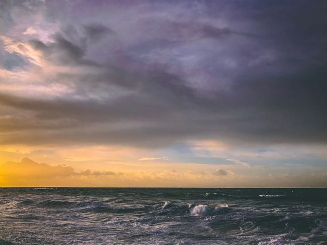 Wittering beach Storm Cloud Sunrise Edit Stylised Sea Sky Horizon Over Water Water Scenics Beauty In Nature Wave Nature Cloud - Sky No People Outdoors Power In Nature Day