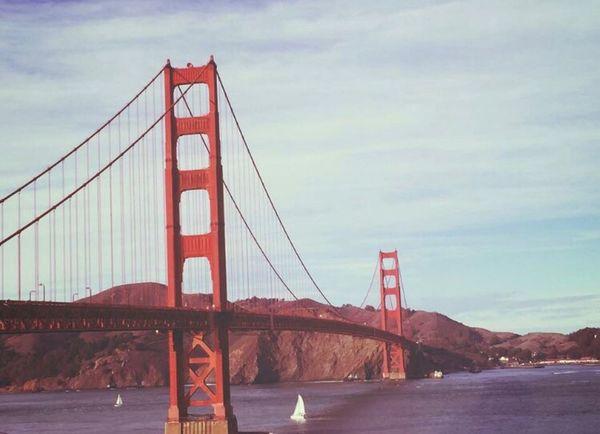 Cross the bridge Sanfrancisco Bayarea Views Captured Moments Bridge (null)Architecture Sky Travel Water SF
