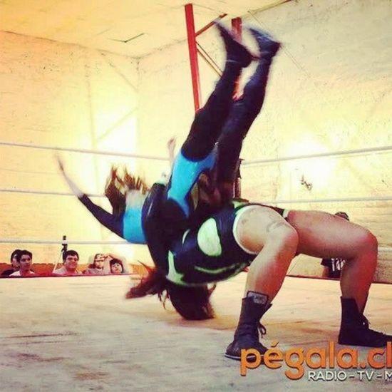 Alison vs Domina Luchalibre Chile wrestling xnl