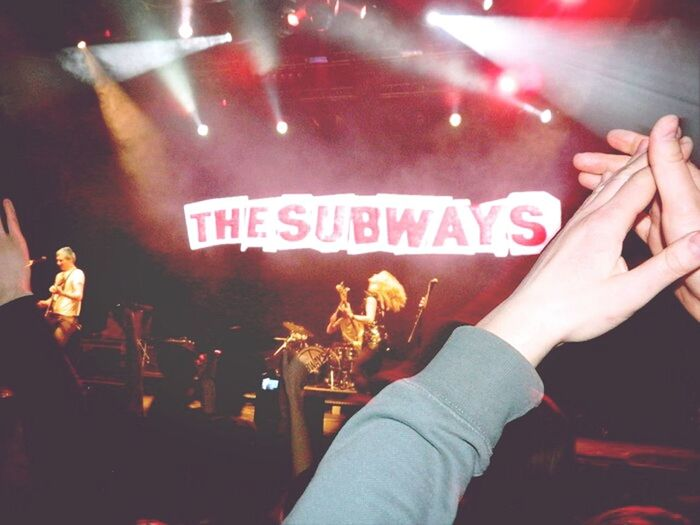 the subways, last spring. we doon't need money to have a good timee!