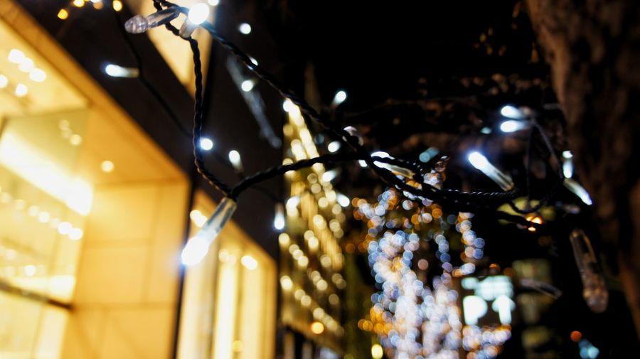 Illuminated Lighting Equipment Night Architecture City