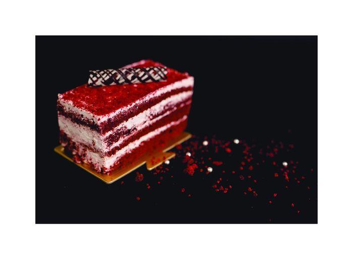 red velvet Red Velvet Black Background Gelatin Dessert Red Dessert Close-up Sweet Food Food And Drink