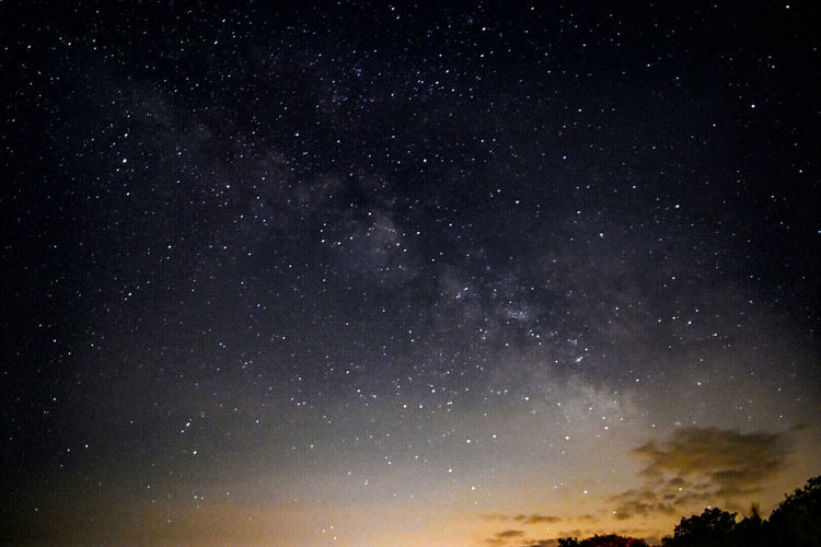 Got my feet on the ground but my head is in the stars. Star - Space Astronomy Night Sky Star Field Galaxy Beauty In Nature Infinity Scenics Space And Astronomy Space Low Angle View Nature IdyllicNature_collection Tree Nightphotography Night Photography Milky Way Sunset