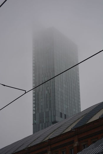 Allmyphotography Architecture Building Exterior Built Structure City Eye4photography  Fog Man Nikon D5200 No People NoEditNoFilter Outdoors Sky Skyscraper