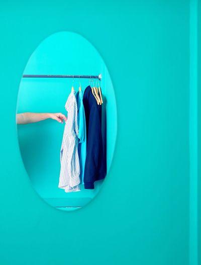 Blue Indoors