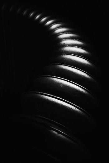 Detail shot of black background