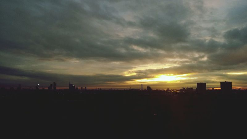 Twilight Clouds And Sky TorreUnicredit Milan