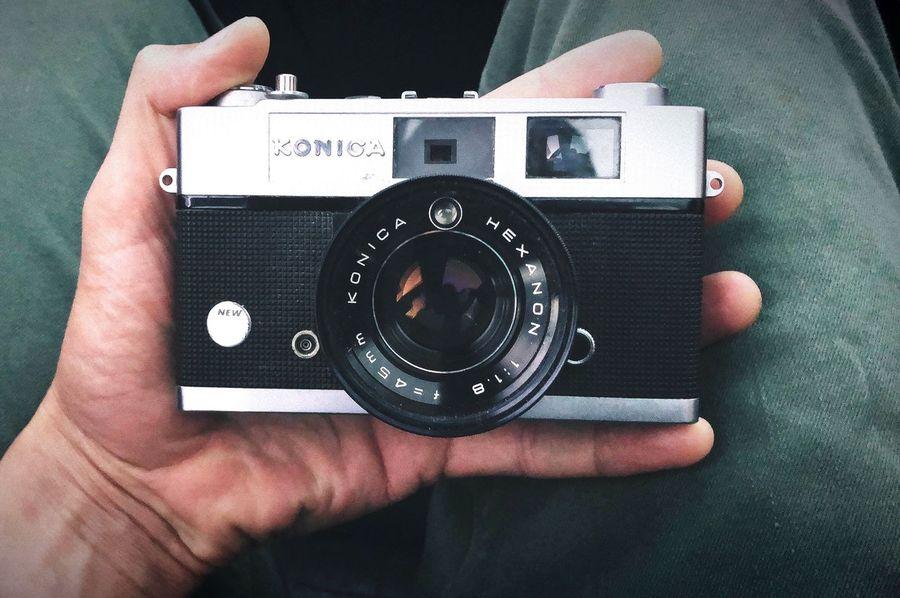 45mm Sydney Travel Portrait Canon Film Konica Photography Themes Technology Camera - Photographic Equipment