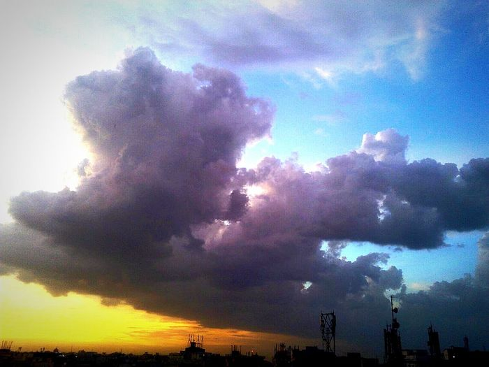 Sky And Clouds Darkness And Light Chillout Evening !!! EyeEmNewHere
