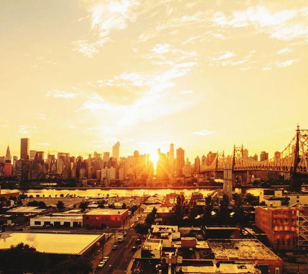 Nightfall of NYC.