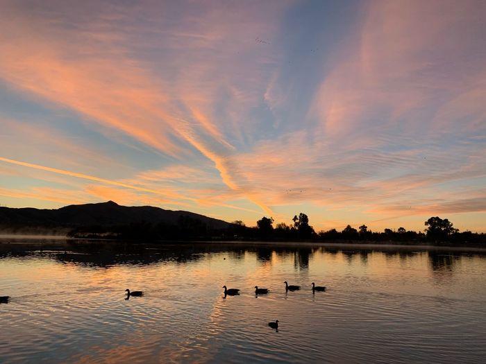 Morning dusk Sunrise Twilight Sky Fremont Lake Elizabeth