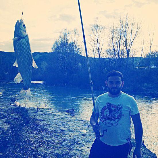Fisher Man Fish Nature River