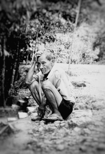 vintage Old Blackandwhite Lifeinmoments Portrait Face Neverstopexploring  Child Outdoors Full Length People Day Nature