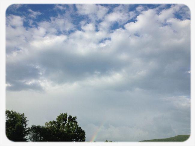 Rainbows Sky Clouds