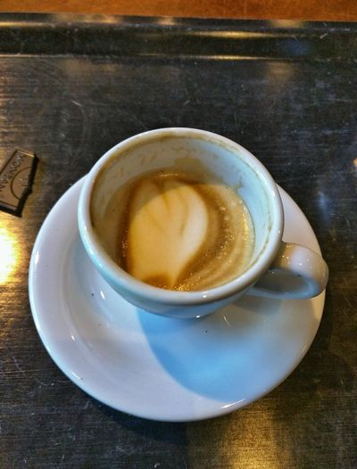 A Nice Cup Of Coffee Espresso Macchiato Lovely Indeed Lunch Relaxing Indoors