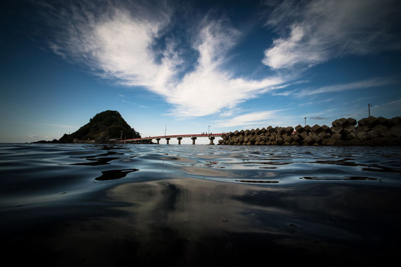 Sea Japan Nature Nihonkai Sea Sky Tsuruoka Wave YAMAGATA
