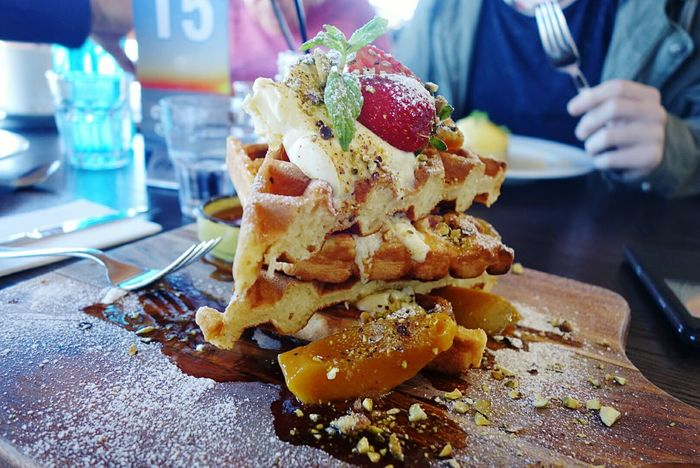 My Favourite Breakfast Moment Yummy Yum Yummy Food Breakfast Waffle Waffle Time Strawberry Family Matters Birthday Breakfast Seaside Delicious Taking Photos Enjoying Life I LOVE MY FAMILY❤ I Love Food! Get Inspired Get In My Belly