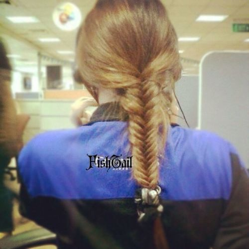Fishtail by Val. ??☺? Hairbraid