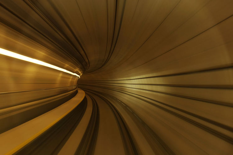View of speeding train inside tunnel in MRT, Kuala Lumpur. Transportation Traveling Vortex Mix Yourself A Good Time Mrt Station Slow Speed Shutter Speed Swirl Time Travel Travel Destinations Tunnel Vision Fresh On Market 2017 Capture Tomorrow