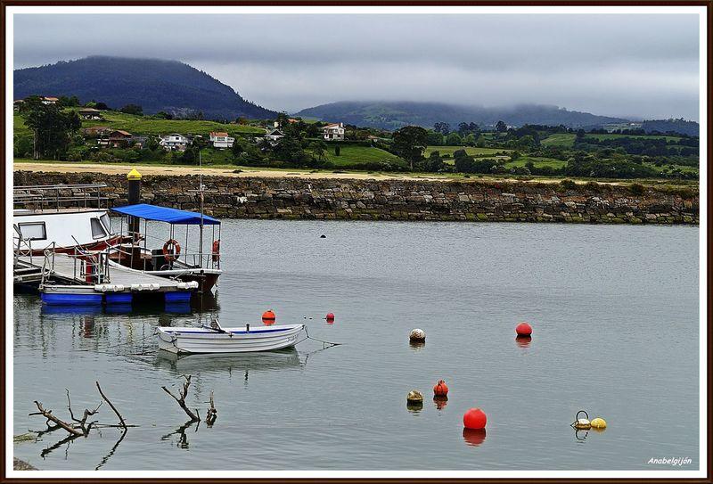 Relaxing Taking Photos Natural Asturias Barco De Pesca Port Mar Barcos