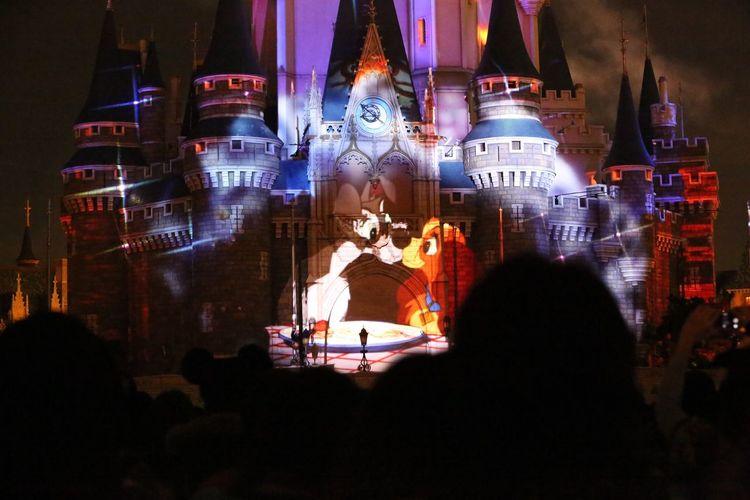 Night 2016 My Year My View Disney Disneyland Rear View EyeEm Photo Beautiful Lovely Kiss