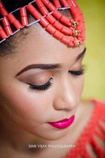 African Beauty Culture Wedding Mua#nigeria #edo #beads