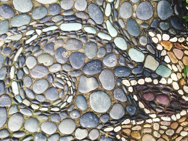 I love Mosaics Mosaic Art Love High Angle View Full Frame Abundance Large Group Of Objects Outdoors Arrangement Nature Backgrounds Textured  Close-up Day No People