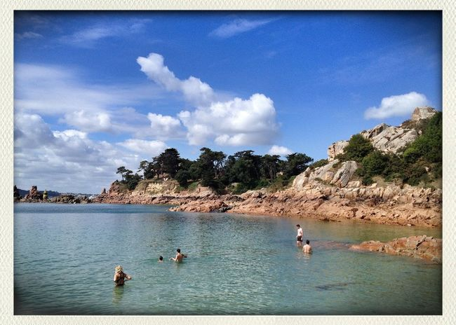 C'est beau la Corse... Mais non, c'est la Bretagne!!! Mon Petit Paradis