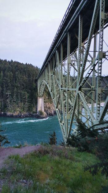 Cada lugar te brinda una diferente alegria!!! Exploring New Ground Bridge Deception Pass Amazing View