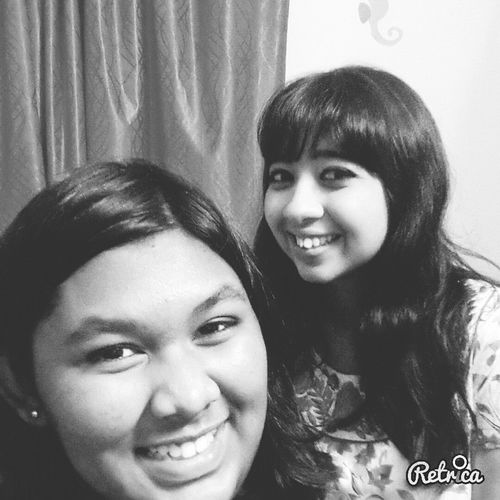 With my sister. Sister Love ♡ Love Her From All My Heart