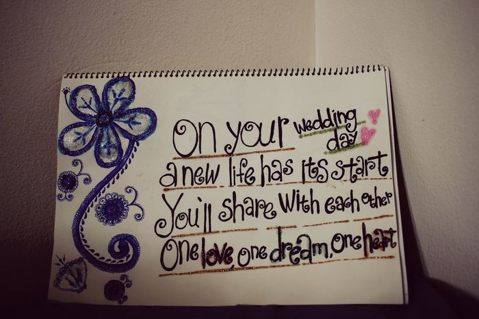 Happywedding Tomyfriends Message To Love Wedding Madebyme Lovemyfriends Wishyouallthebest Message Board
