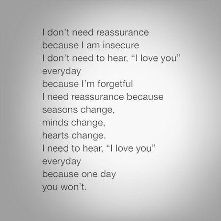 Love Quotes Blackandwhite Reassurance
