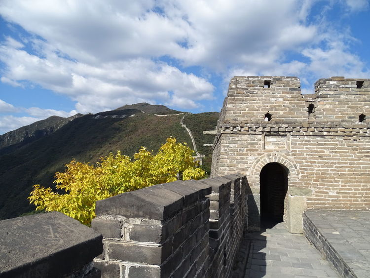 Chinese Wall History Architecture Cloud - Sky Built Structure Ancient Travel Destinations Ancient Civilization Day No People Outdoors Sky China Chinese Wall Great Wall Of China Great Wall