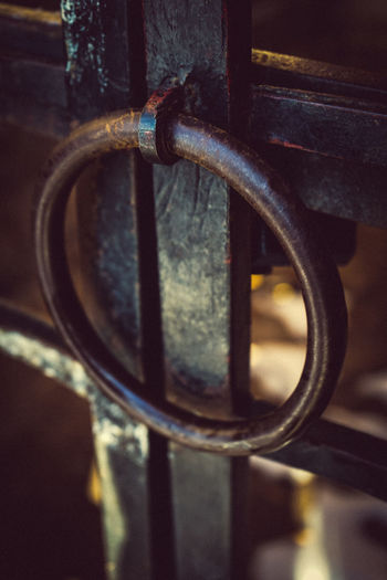 Architecture Architecture_collection Doors Hard Iron Gate Security Architecturelovers Close-up Day Door Door Ring Focus On Foreground In The Past Iron Ring Metal Metallic No People Old Old Buildings Outdoors Popular Photos Protection Ring Rings Safety