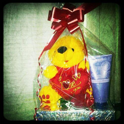 My Valentines Present ! (: I love you babe