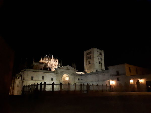 Night Illuminated Architecture Built Structure Travel Destinations Building Exterior Outdoors Politics And Government No People City Sky Zamora Zamora, Spain