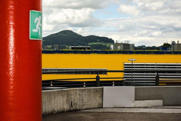 Color blocking last month in Salzburg Austria Österreich Salzburg Landscape Landschaft Colorblocking Travel