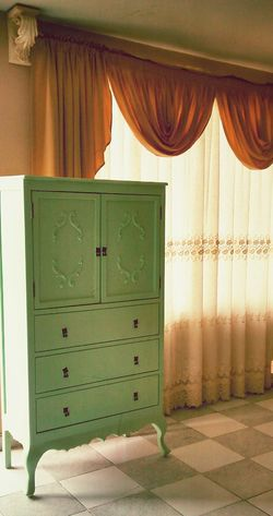 Work done! Old styled mini closet in ligth mint. Alfredbass Carpentry Oldfurniture Woodworking
