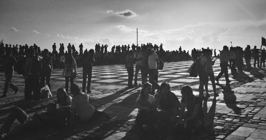 Blackandwhite Occupy Taksim! Direngeziparki Chapulling