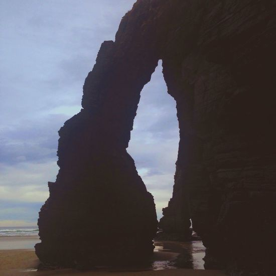 Have a nice Christmas day Playa De Las Catedrales Christmas Spirit Taking A Walk Beach Vscocam Snapseed