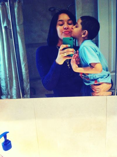 Me & my baby cousin :)