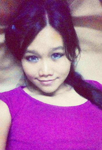 Good Night ♥ Kuala Lumpur Malayisa before sleep Selfie first .. That's Me