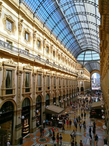 Milan | Italy Architecture Built Structure Travel Destinations Large Group Of People Day Tourism Indoors  Architectural Column Ceiling Real People Building Exterior People City Arch Old Building  Italy Milan Old Building  Eyem Collection Eyemphotos Eyem Market Eyem Buildings Eyem City Shots Eyem Gallery EyeEm Best Shots The Week On EyeEm EyeEmNewHere Your Ticket To Europe