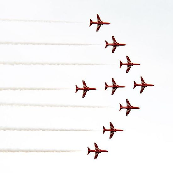 Redarrows WNAS2015 Wales National airshow swansea
