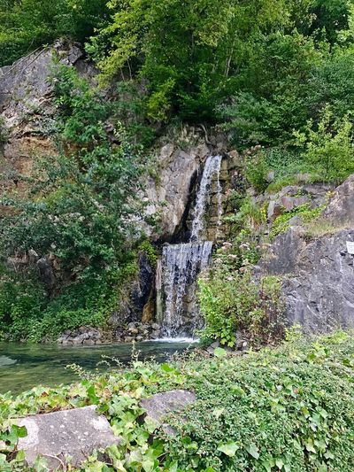 Waterfall Water Nature Flowing Water Beauty In Nature