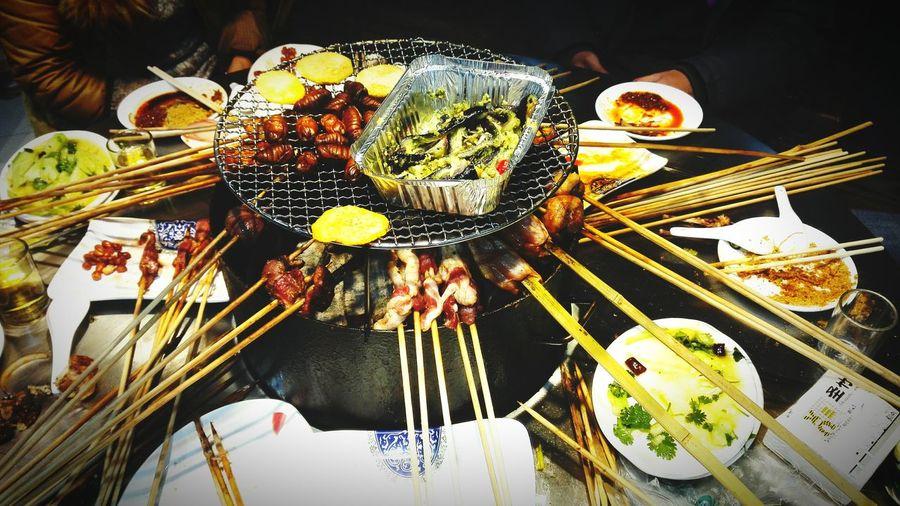 大竹签字 for dinner Relaxing Enjoying Life Hanging Out Food Friends Guess What ...? Guess What! Lifestyles