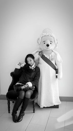 Teddy Bear Queen Elizabeth